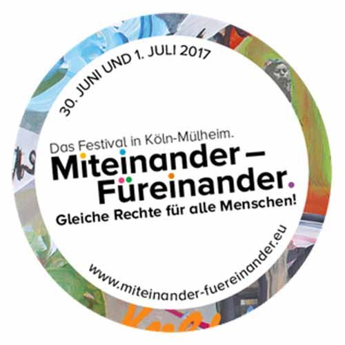 Logo Festival Miteinander-Füreinander Köln Mülheim